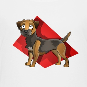 Border Terrier - Kinder Premium T-Shirt