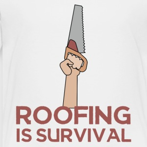 Roofing: kate on Survival. - Lasten premium t-paita