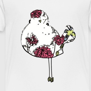 Colorful Woodstock Bird - Kids' Premium T-Shirt