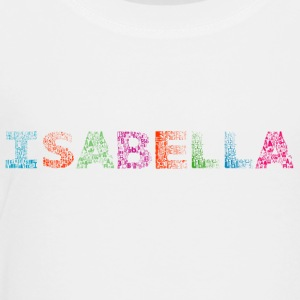 Isabella Letter Name - Premium T-skjorte for barn