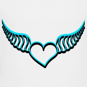 Heart with wings - Kids' Premium T-Shirt