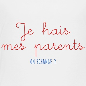 JE HAIS MES PARENTS - T-shirt Premium Enfant
