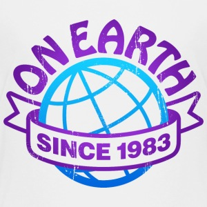On Earth Since 1983 - Kids' Premium T-Shirt