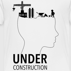 Brain Under Construction | adolescentie - Kinderen Premium T-shirt