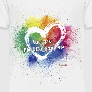 Little Big T Rainbow - Premium-T-shirt barn