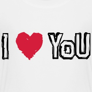 I LOVE U - T-shirt Premium Enfant