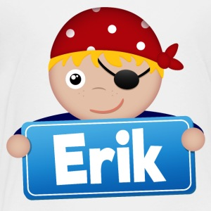 Little Pirate Erik - Premium-T-shirt barn