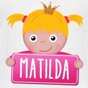 Little Princess Matilda - Kinderen Premium T-shirt