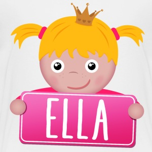 Little Princess Ella - Premium-T-shirt barn