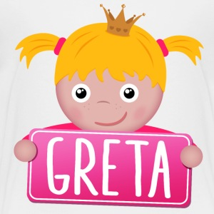 Little Princess Greta - Børne premium T-shirt