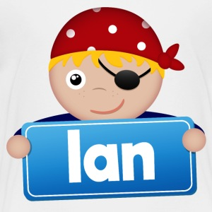 Little Pirate Ian - Premium-T-shirt barn