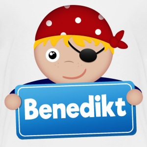 Lite Pirate Benedict - Premium T-skjorte for barn