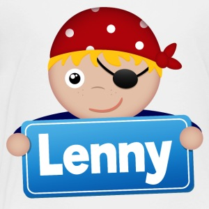 Little Pirate Lenny - Premium-T-shirt barn