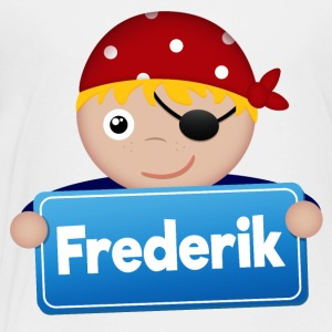Little Pirate Frederik - Premium-T-shirt barn