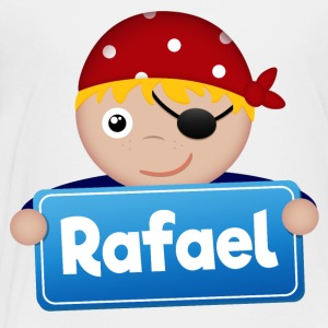 Little Pirate Rafael - Premium-T-shirt barn