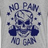 no pain gain bodybuilding musculation - T-shirt Premium Enfant