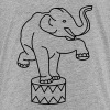Zoo Zirkus Elefanten Circus Elephants Retro Comic - Kids' Premium T-Shirt