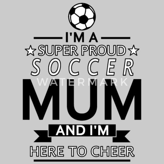Fussball Mama Mum Mutter Stolz Fussball Geschenk Kinder