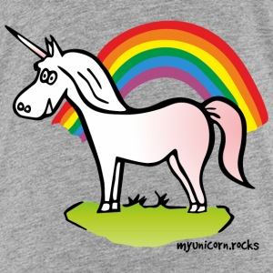 Unicorn and Rainbow - licorne, arc en ciel