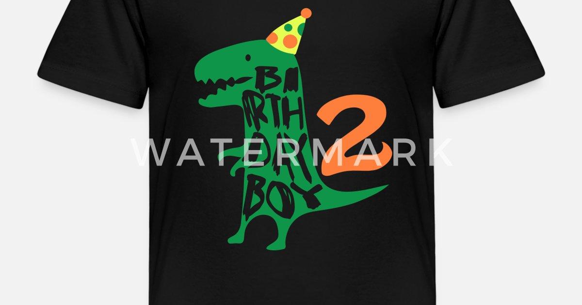 Birthday Boy 2 Years Old Kids Premium T Shirt