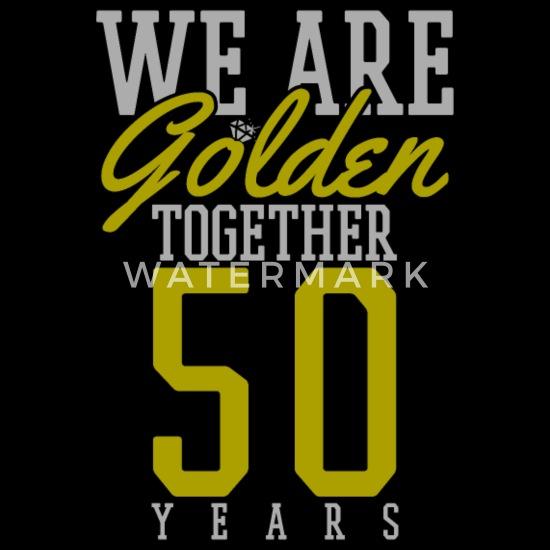 Goldene Hochzeit 50 Hochzeitstag Geschenk Kinder Premium