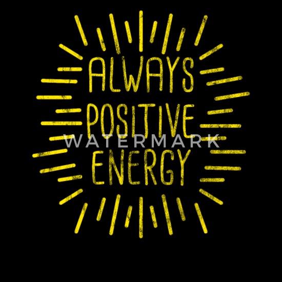 Positive Energie Sprüche Geschenk Kinder Premium T Shirt