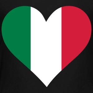 A Heart For Italy - Kids' Premium T-Shirt