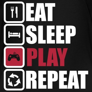 eat sleep play repeat,geek,gamer,gaming,nerd