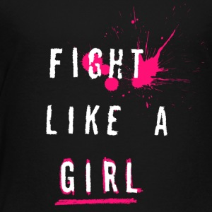 Fight Like A Girl - Premium-T-shirt barn