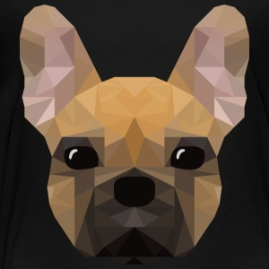 French Bulldog - low poly style - Kids' Premium T-Shirt