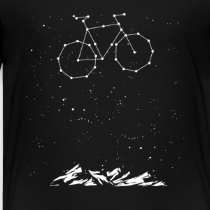 Bike Constellation - Premium-T-shirt barn