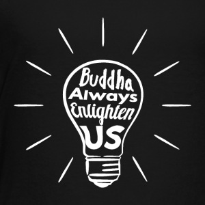 Buddha Enlighten oss - Hvit - Premium T-skjorte for barn