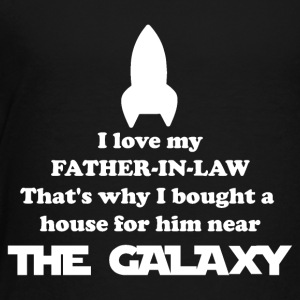 Svärfar Rocket Gifthouse nära The Galaxy - Premium-T-shirt barn