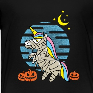 Unicorn Halloween - Kinderen Premium T-shirt