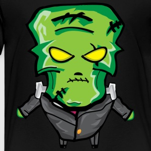 halloween Frankenstein - Premium T-skjorte for barn