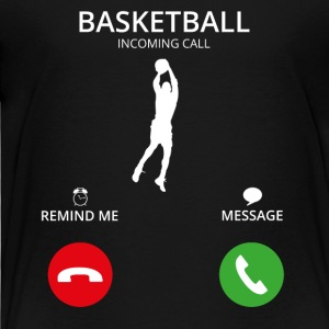 Call Mobile Anruf basketball dunking dunker - Kinder Premium T-Shirt