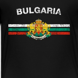 Bulgaarse vlag shirt - Bulgaarse Badges & Bulgarije - Kinderen Premium T-shirt