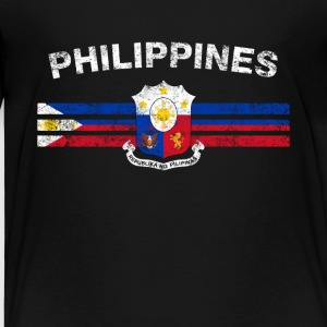 Filipijnse Vlag Shirt - Filipijnse Badges & Philippine - Kinderen Premium T-shirt