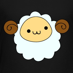 Liten bagge sheep - Premium-T-shirt barn