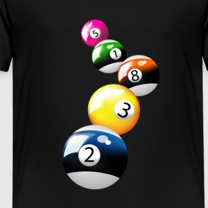 Pool-Spiel - Kinder Premium T-Shirt