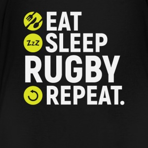 Eat, sleep, rugby, repeat - gift - Kids' Premium T-Shirt