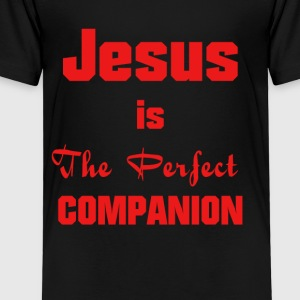 Jesus-Christ, the perfect companion - Kids' Premium T-Shirt