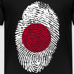 Fingeravtryck - Japan - Premium-T-shirt barn