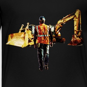 Diggers and Dozers - T-shirt Premium Enfant