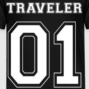 TRAVELER 01 - White Edition - Kinderen Premium T-shirt