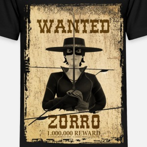 Zorro The Chronicles Wanted Poster