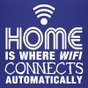 home is where the wifi connects automatically II - Børne premium T-shirt