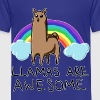 Llamas are awesome - Kids' Premium T-Shirt