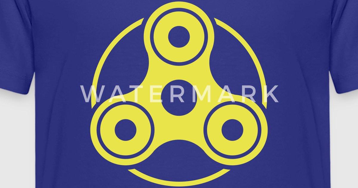 Fidget Spinner Shirt Design