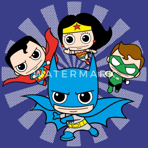DC Comics Originals Chibis Von Dccomicsoriginals